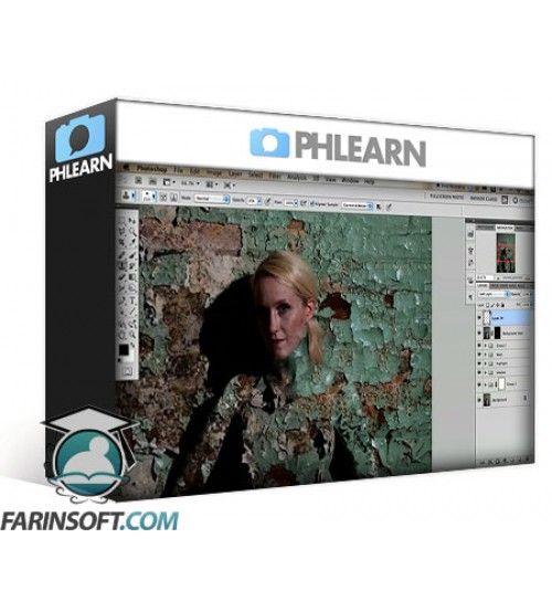 آموزش PH Learn Pro Photoshop Tutorial - Blending In