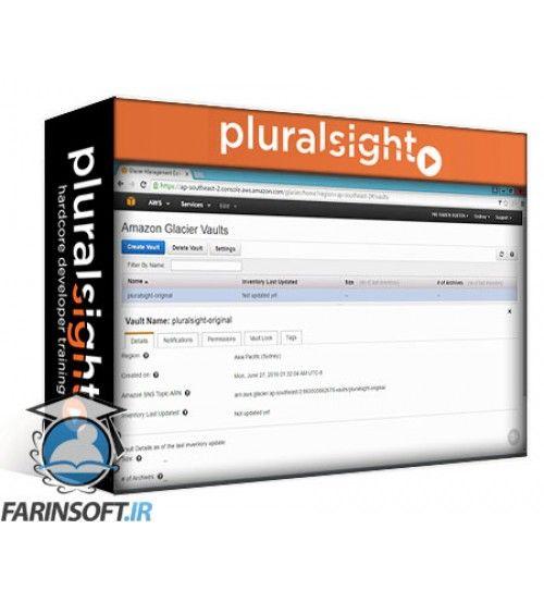 آموزش PluralSight File Storage Using AWS S3 and Glacier: Developer Deep Dive