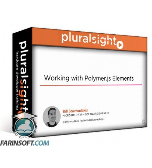 آموزش PluralSight Working with Polymer.js Elements