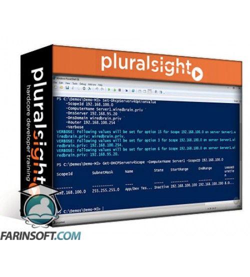 آموزش PluralSight Windows Server Administration Fundamentals Using PowerShell