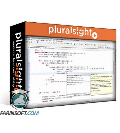 آموزش PluralSight Scaling Java Applications Through Concurrency