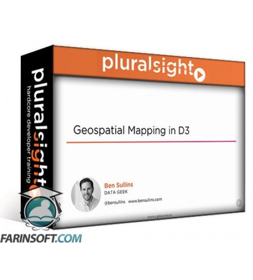 آموزش PluralSight Geospatial Mapping with D3