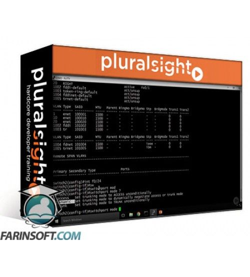 آموزش PluralSight Introducing VLANs for Cisco CCNA 200-125/100-105