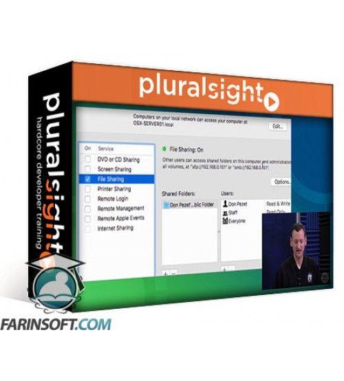 آموزش PluralSight Apple Certified Technical Coordinator 10.11: Sharing Files