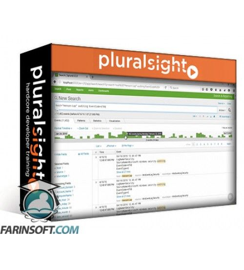 آموزش PluralSight Analyzing Machine Data with Splunk