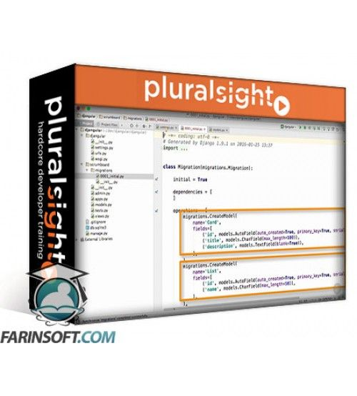 آموزش PluralSight Web Development with Django and AngularJS