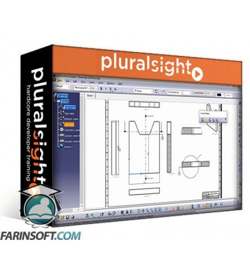 آموزش PluralSight CATIA V5 Essentials – Part Modeling