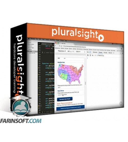 آموزش PluralSight Hands-on JavaScript Project: Solar Calculator