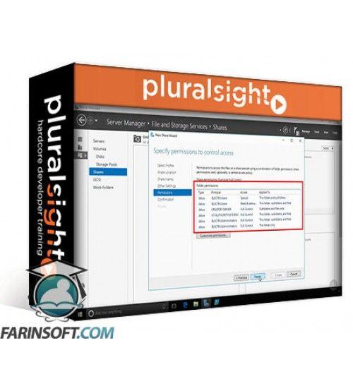 آموزش PluralSight Implementing Windows Server 2016 Storage Solutions