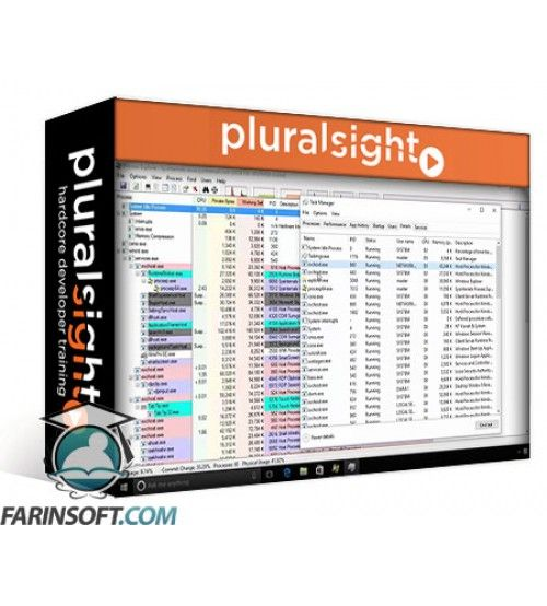 آموزش PluralSight Working with the Sysinternals Toolkit