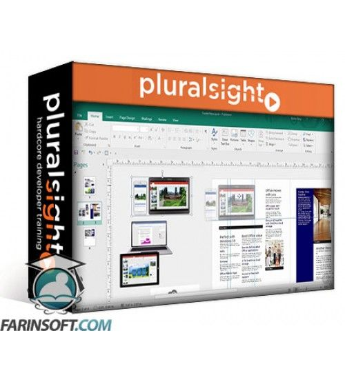 آموزش PluralSight Using Publisher 2016