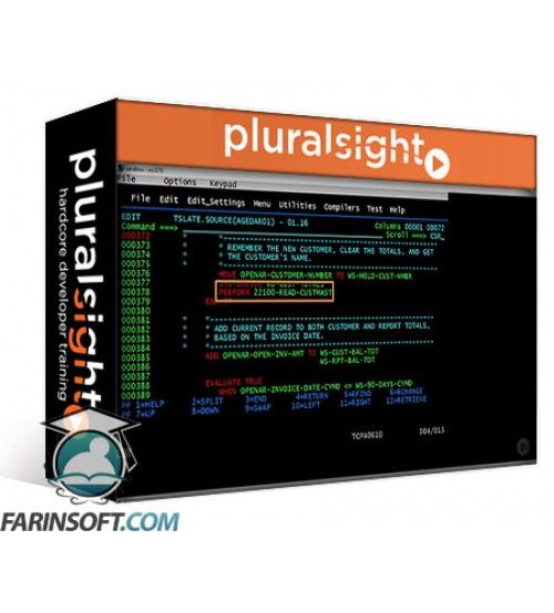 آموزش PluralSight Getting Started with Mainframe COBOL