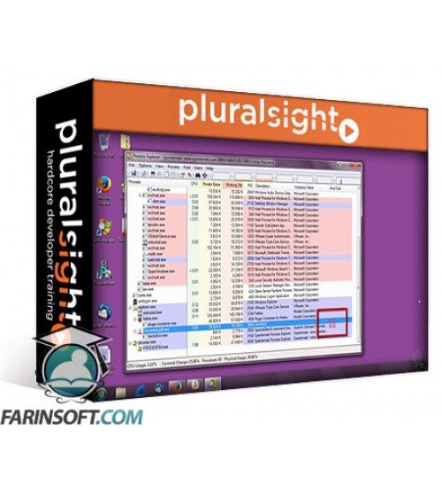آموزش PluralSight Getting Started Analyzing Malware Infections