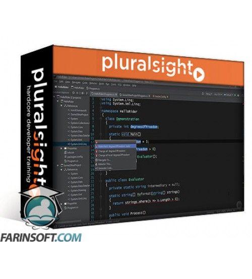 آموزش PluralSight Cross-platform C# Programming with JetBrains Rider