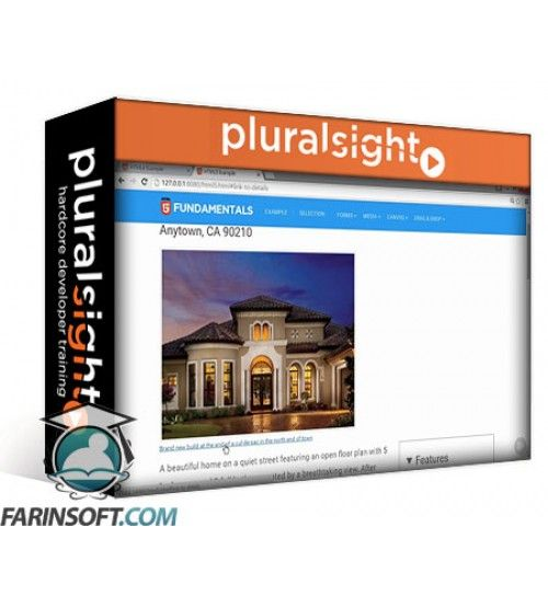 آموزش PluralSight HTML5 Fundamentals