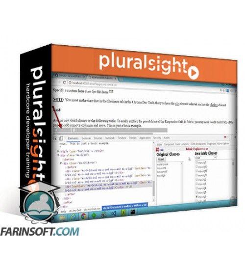 آموزش PluralSight Developing with Office UI Fabric