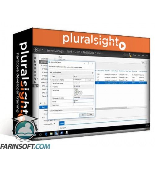 آموزش PluralSight Implementing Windows Server 2016 DHCP