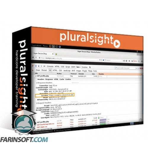 آموزش PluralSight Web App Hacking: Sensitive Data Exposure