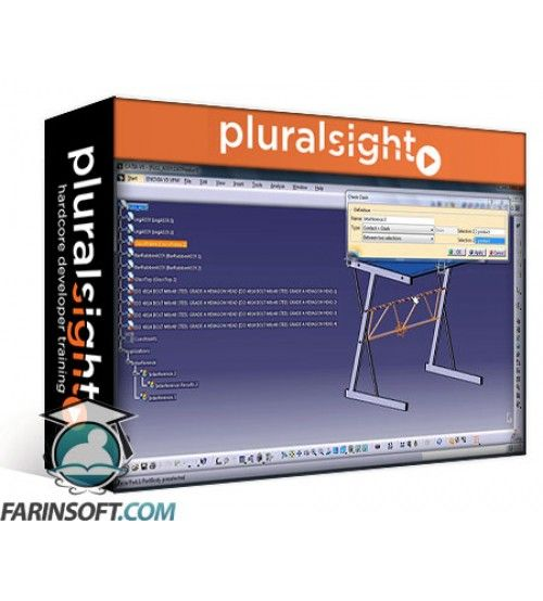 آموزش PluralSight CATIA V5 Essentials – Assembly Design Basics