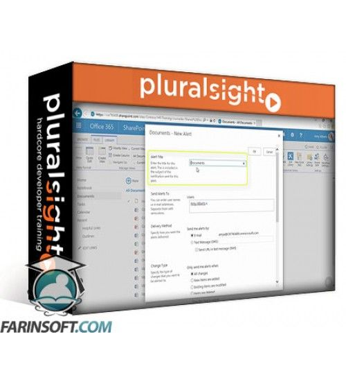 آموزش PluralSight SharePoint Online (2016): Power Users