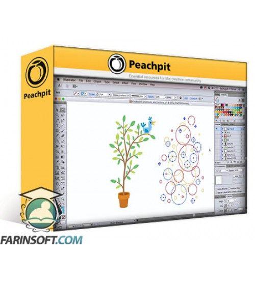 آموزش PeachPit Illustrator - Vector Basic Training - A Systematic Creative Process for Building Precision Vector Artwork
