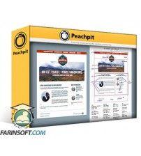 آموزش PeachPit Turning a Design into HTML Code and using CSS