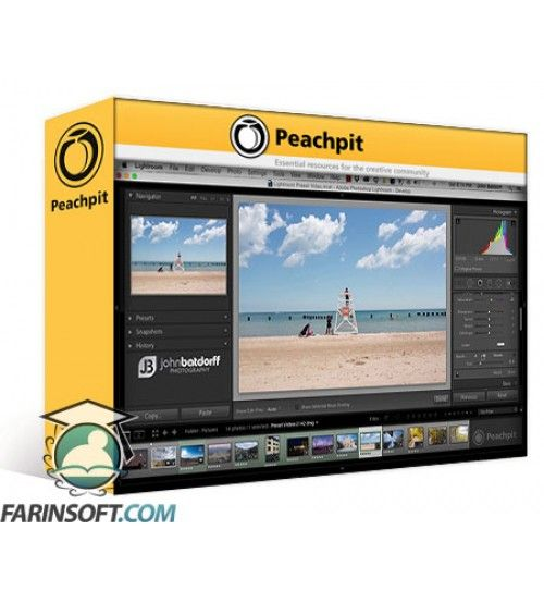 آموزش PeachPit Master Lightroom Presets - Enhance your Creativity and Increase Efficiency