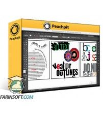 آموزش PeachPit Learn Adobe Illustrator CC for Graphic Design and Illustration