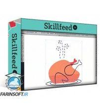 دانلود آموزش SkillFeed Digital Illustration: Communicate with Color, Pattern and Texture