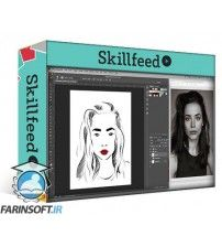 دانلود آموزش Skillshare Fashion Illustration: Create a Minimalist Fashion Portrait