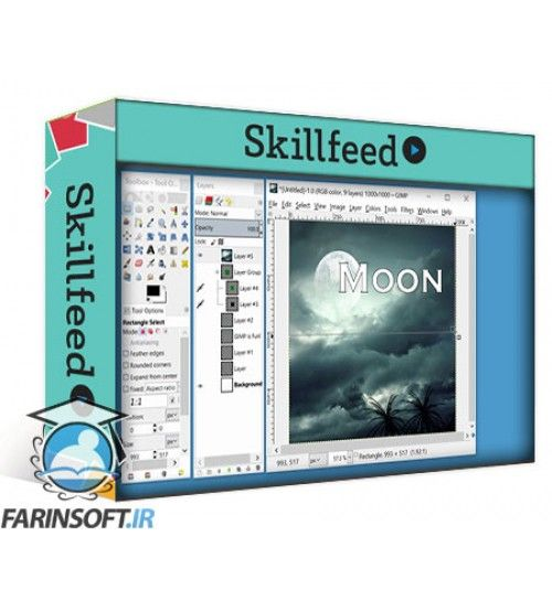 آموزش SkillFeed GIMP for Beginners 7: GIMP Tips, Tricks and Techniques