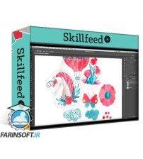 دانلود آموزش Skillshare Remove Backgrounds from Watercolor Illustrations