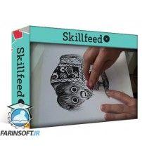 دانلود آموزش Skillshare INKING CUTE ANIMALS Explore the Ways of Traditional Illustration I