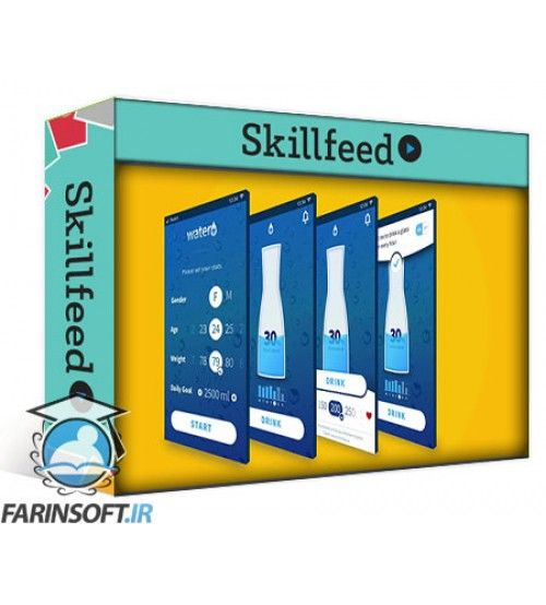 آموزش SkillFeed Master Sketch and Design an Amazing App