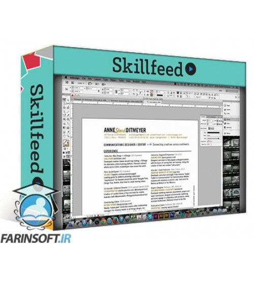 آموزش SkillFeed Redesign Your Resume: Designing Professional Documents