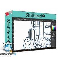 آموزش SkillFeed Create Your Own Steampunk Cartoon Vehicle - Part 1