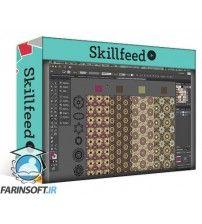 آموزش SkillFeed Creating Decorative Patterns with Hand-Drawn Elements in Adobe Illustrator