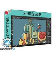 آموزش SkillFeed Create Your Own Steampunk Cartoon Vehicle - Part 2