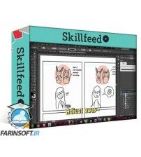 دانلود آموزش SkillFeed A Simple Step by Step Guide: Make a Cute Webcomic using Adobe Illustrator
