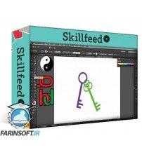 دانلود آموزش Skillshare Dont FEAR Adobe Illustrator! v1: The Shape Builder Tool