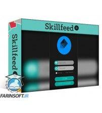 دانلود آموزش Skillshare UI Design Login Page Prototype in Adobe illustrator