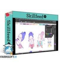 آموزش SkillFeed Design a Sticker Pack from Scratch | Adobe Illustrator
