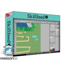 آموزش SkillFeed Design an Illustrated Map in Adobe Illustrator