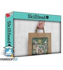 آموزش SkillFeed Doodle Design for Paper Bag Mockup with Photoshop