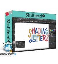 آموزش SkillFeed Shading Letters in Illustrator