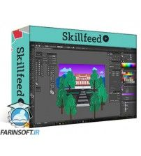 آموزش SkillFeed Add Texture and Depth of Field to Illustrations