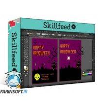 آموزش SkillFeed Halloween Poster Design in Adobe Illustrator