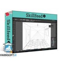 آموزش SkillFeed Mastering Adobe Illustrators Perspective Grid Tool