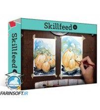 آموزش SkillFeed Intro to Watercolor Painting on YUPO Paper Beginner Level