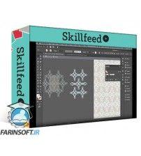 آموزش SkillFeed Design Half-Drop Repeat Patterns (Using Your Own Brush Strokes) to Print on Pillow Covers